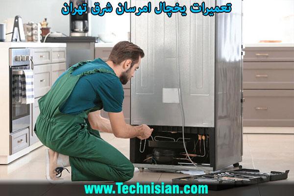 تعمیرات یخچال امرسان شرق تهران