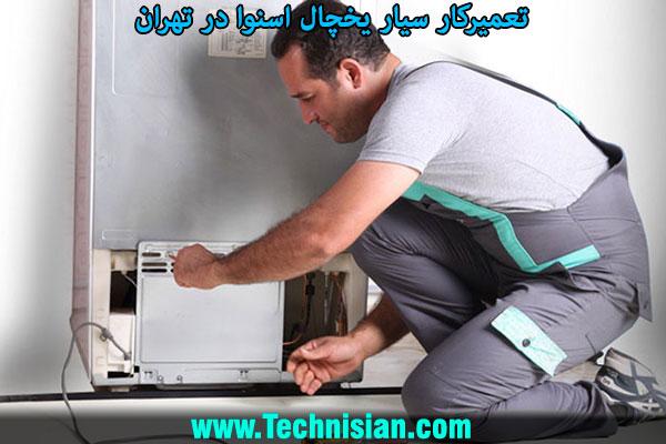 تعمیرکار سیار یخچال اسنوا در تهران