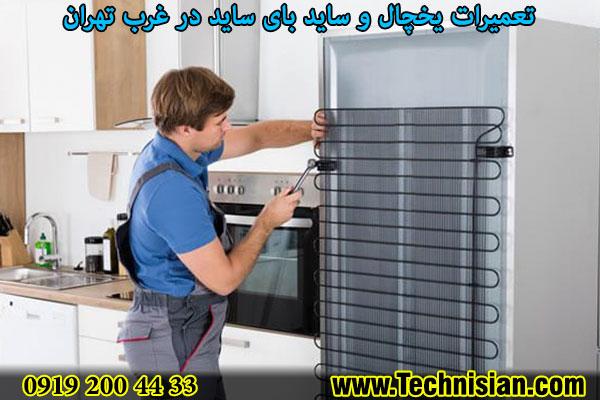 تعمیرات یخچال و ساید بای ساید در غرب تهران