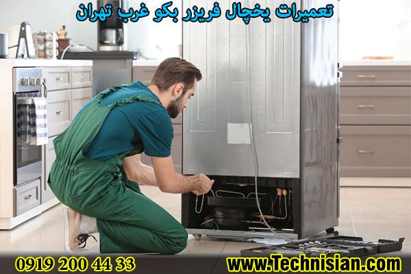 تعمیرات یخچال فریزر بکو غرب تهران